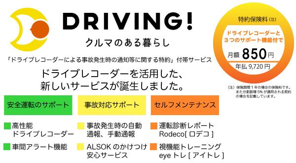 ドライブレコーダーを活用した自動車保険